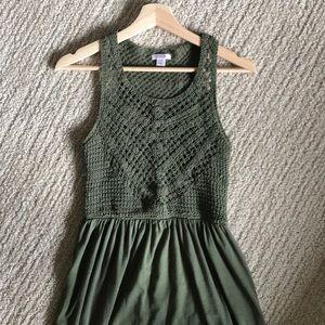 Xhilaration Maxi Dress (size small)